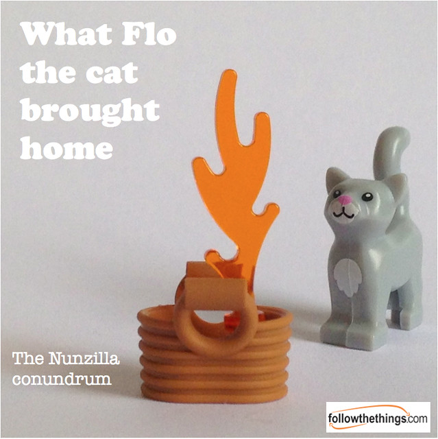 Flo the cat: wind up Nunzilla