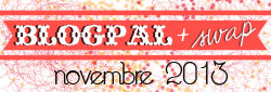 BlogPal + Swap Novemebre