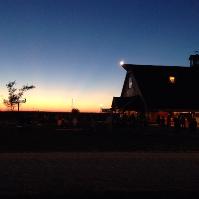 Sunset at Shryock's farm and corn maze where our middle and upper school social was held. Gorgeous night!