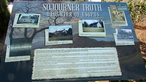 Sojourner Truth Memorial - Sign - Port Ewen, N.Y.