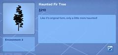 Haunted Fir Tree