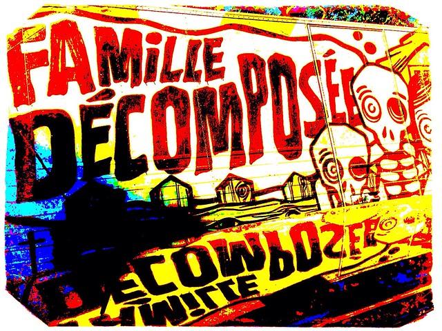 Famille Décomposée by Paris Set Me Free