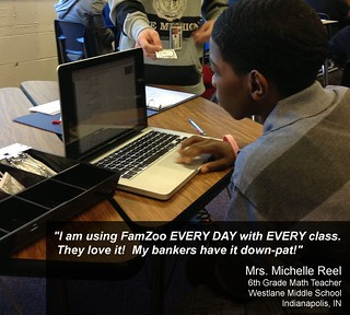 Mrs. Reel Banks on FamZoo to Make Math Real in the Classroom