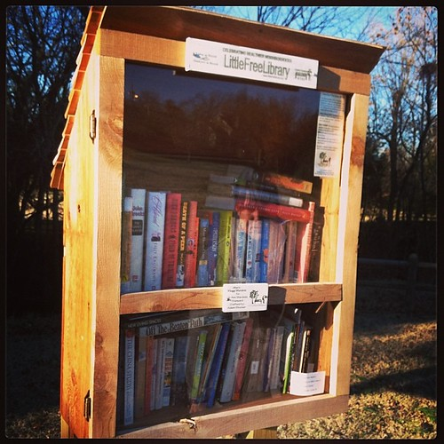 Little Free Libraries...all around Fayetteville...