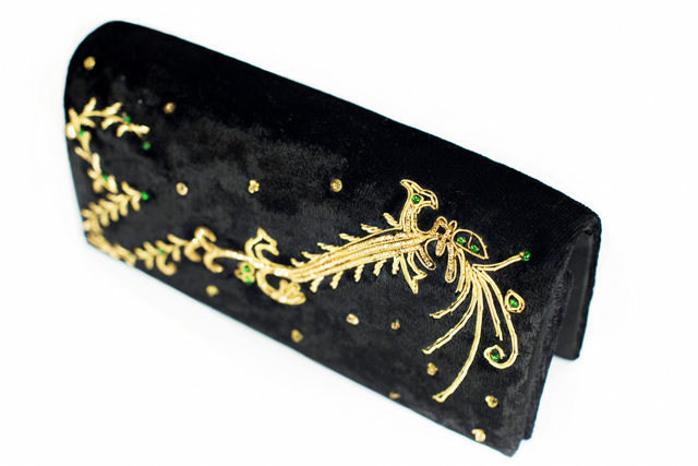 Black Swan Clutch Bag © ROH 2013