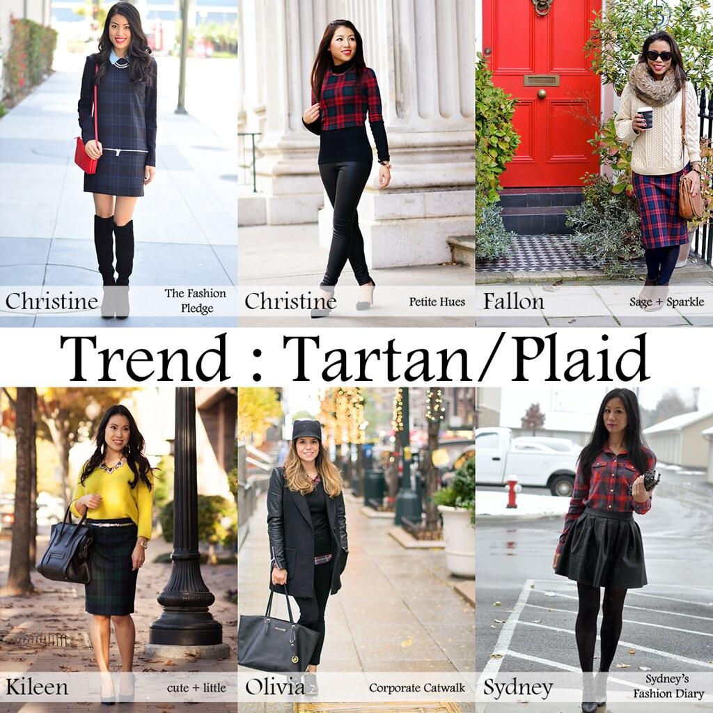petite, tartan, plaid, leather,