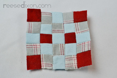 Miniature Quilt Ornament Tutorial Step 4