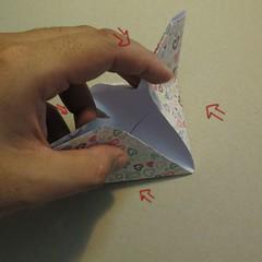 วิธีการพับกระดาษเป็นรูปหัวใจ 011