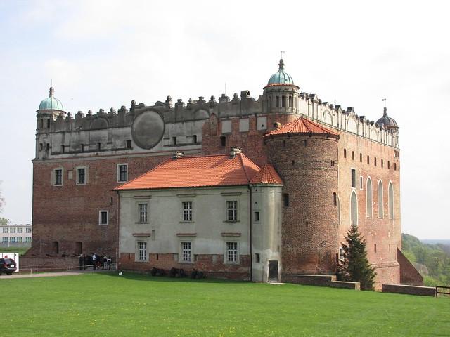 El castillo de las luchas de caballeros en Polonia: Golub-Dobrzyń