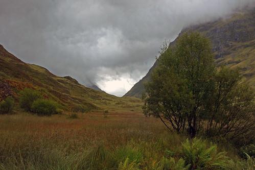 autumn storm scotland day highland glencoe blinkagain