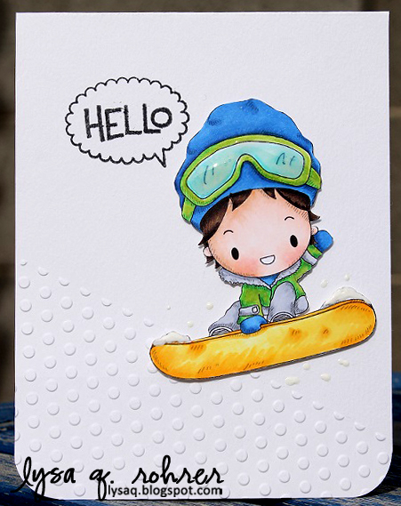Snowboarder Hello