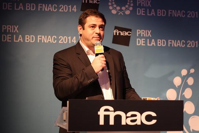Enrique Martinez - Prix Fnac BD 2014