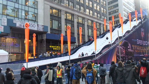 #SnapShot | Super Bowl Toboggan Run #SB48