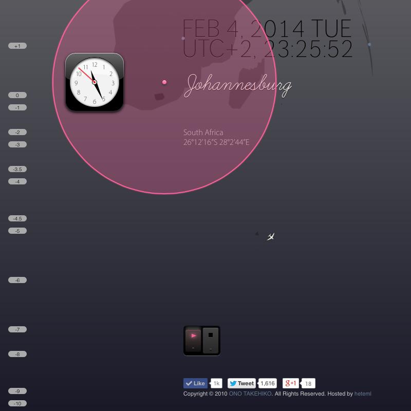 WebKit Clock