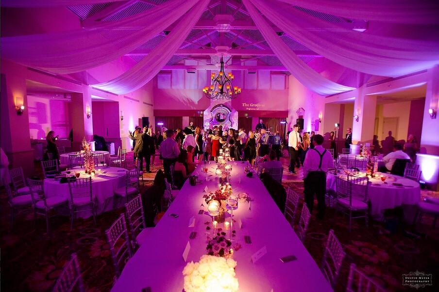 Dustin Meyer Photography & Drapery Lighting Services by Intelligent Lighting Design ...