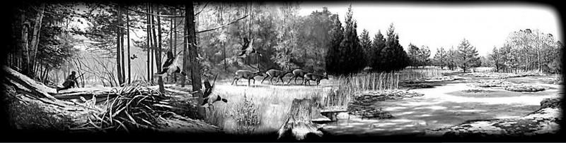 Hunter scene