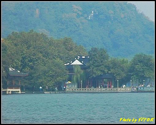 杭州 西湖 (其他景點) - 390 (從西湖 湖心亭上看西湖十景之 平湖秋月)