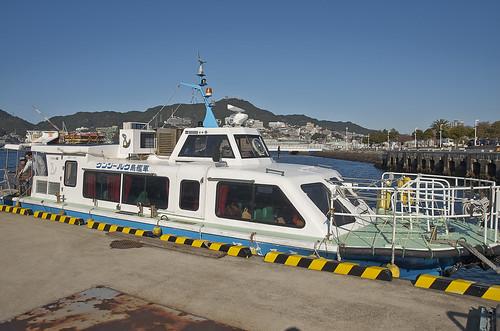 【写真】離島めぐり : 常盤2号桟橋・軍艦島クルーズ出発