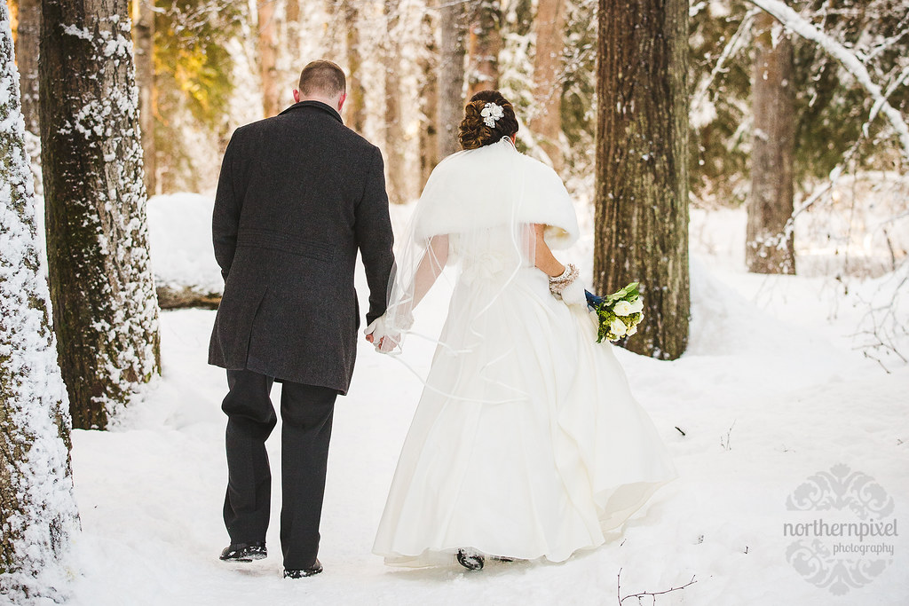 Winter Wedding Photography Prince George BC