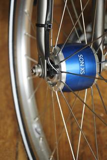 roue moyeu dynamo shimano