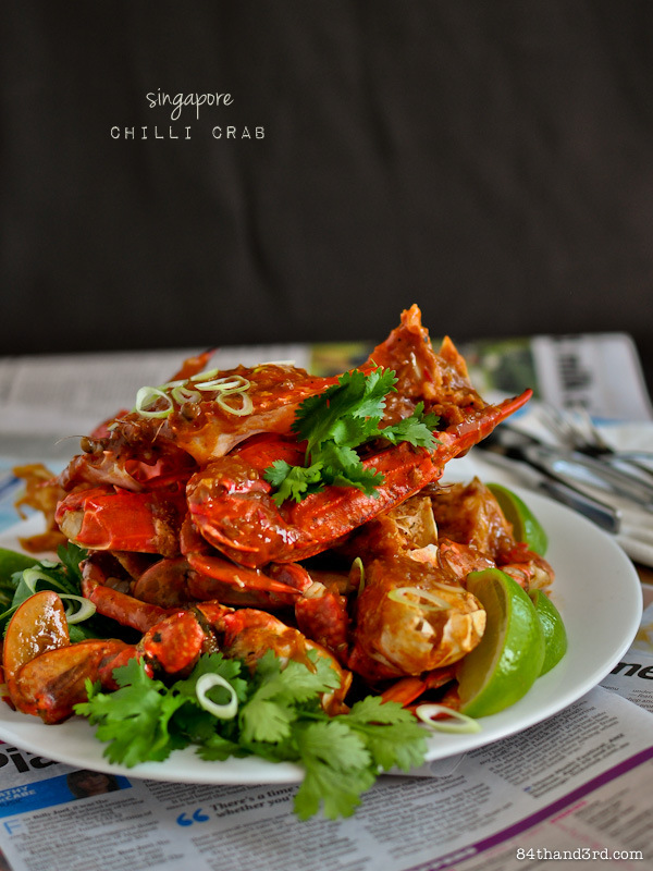 Singapore Chilli Crab deja vu