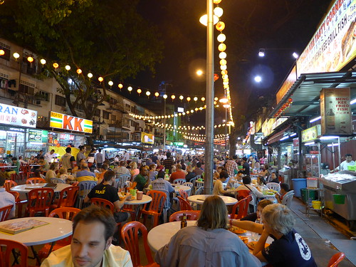 Jalan Alor by night