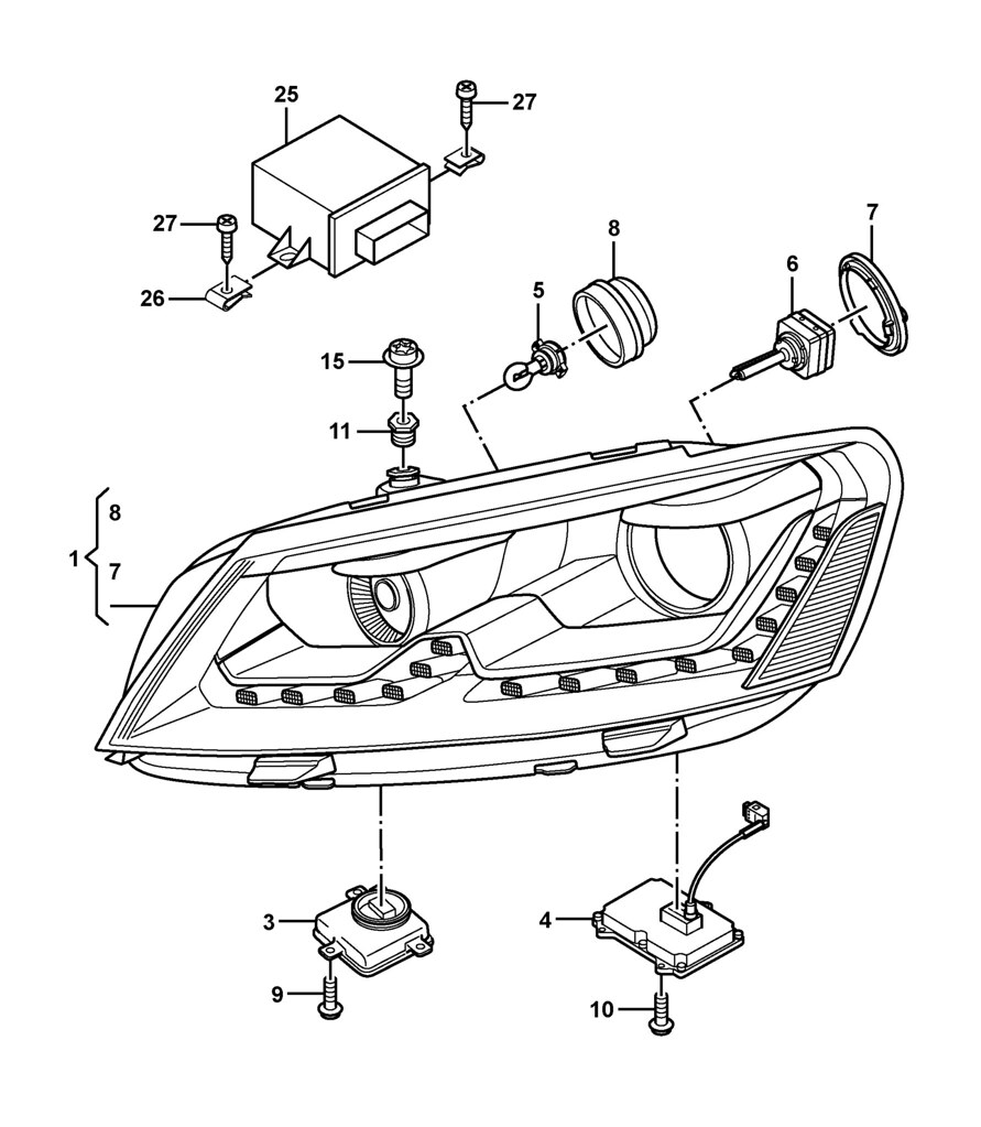 2014 vw jetta wiring diagram headlights