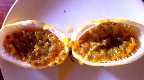 The divided passion fruit