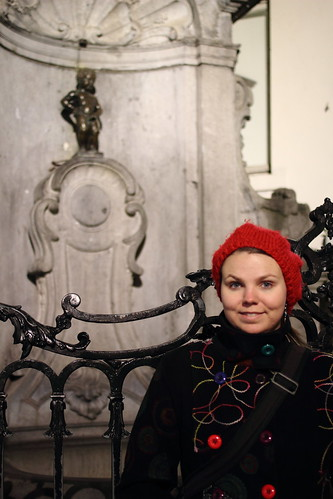 Mannekin Pis and Jenni