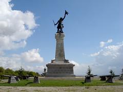 Site de Valmy - Statue de Kellerman©ADT Marne