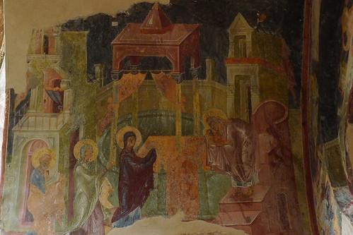 Fresco - Mystras - Sparta, Greece