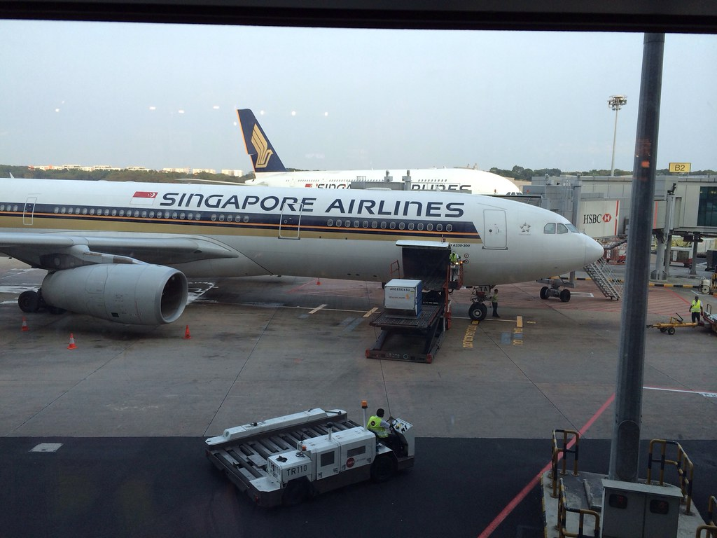 First part of a long journey done… Arrived in singapore..