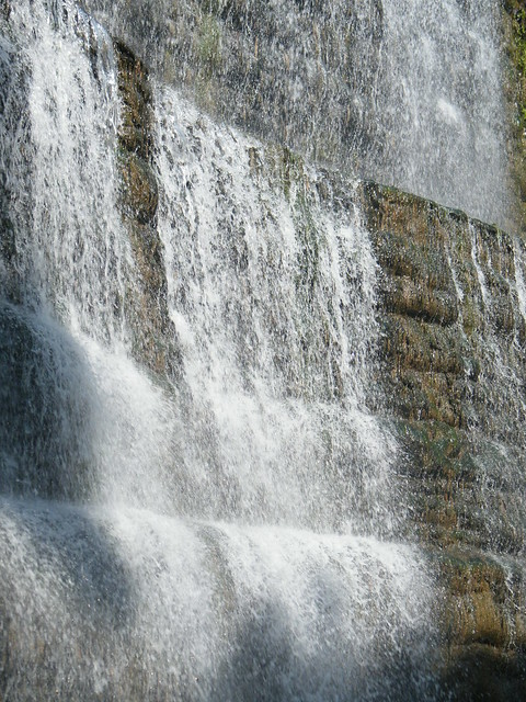 still more waterfalls in Rock garden, Chandigarh
