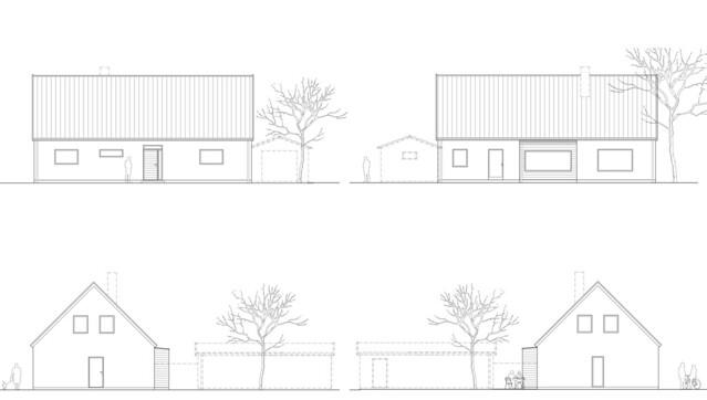 Bunkeflo fasad