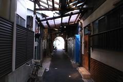 鴻池商店街跡