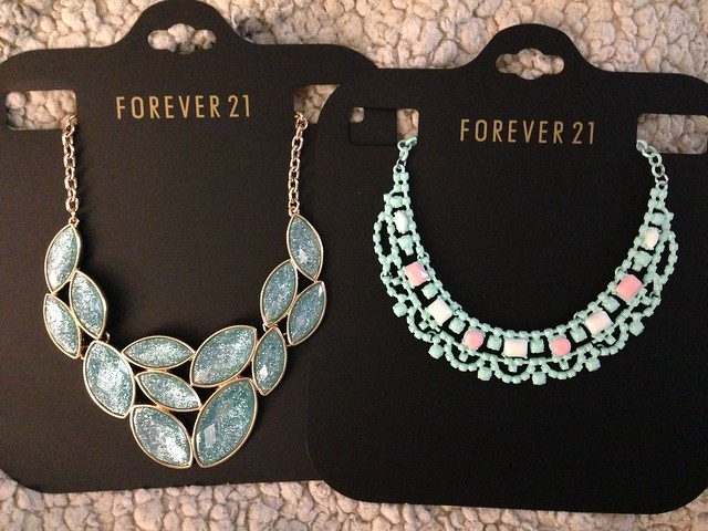 F21 necklaces