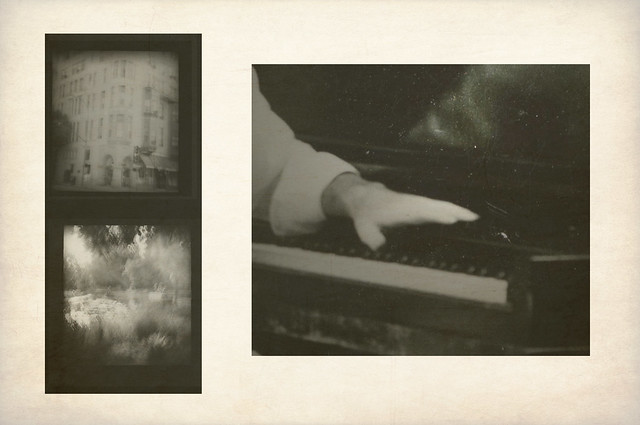 d i a n e p o w e r s - the ghosts and boxes of sheet music you left behind
