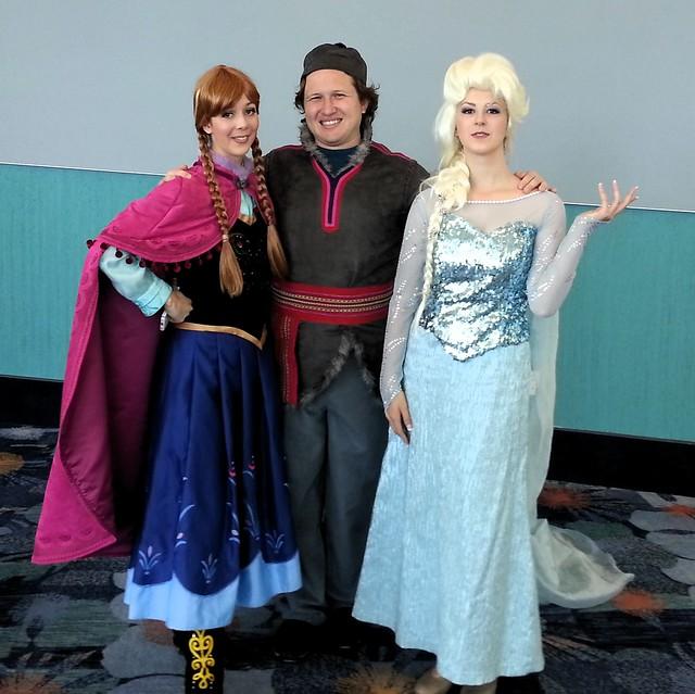 Frozen Trio