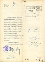 """II/16. A zsidóktól elvett szőlőbirtokotok """"átadása"""" a megerősítendő magyar középosztálynak K184_1943_27_73714_1085o"""