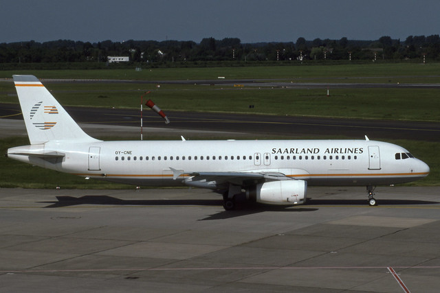 OY-CNE (Saarland Airlines)