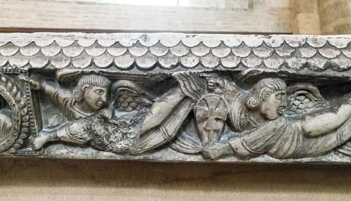 Copie du Maître-Autel (Bernard Gilduin, 1096) de la basilique Saint-Sernin, Toulouse (Haute-Garonne, France)