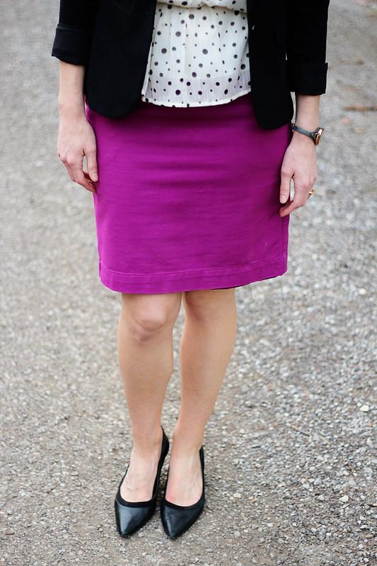 pinkpencilskirt-polkadots-blazer-4