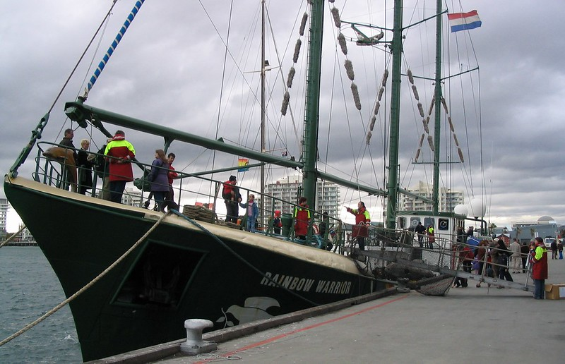 Rainbow Warrior, Port Melbourne, May 2004