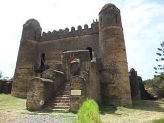 Königspalast in Gonder