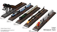 miniature train collection
