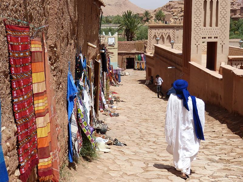 Berber guide, Ait Ben Haddou