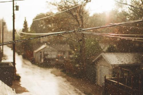 Wires & Rain