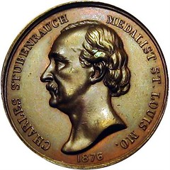 Charles Stubenrauch Medals Of All Kinds Coined obverse