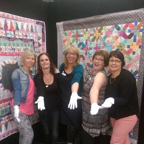 White glove ladies.