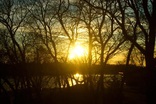 sunsets iowa lakeanita